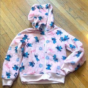 Disney stitch girl cozy sweater size 5